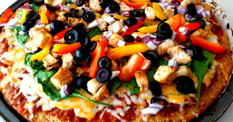 FLUFFY LOW CARB PIZZA CRUST