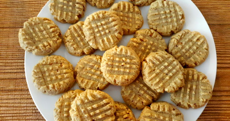 LOW CARB SUGAR FREE PEANUT BUTTER COOKIES