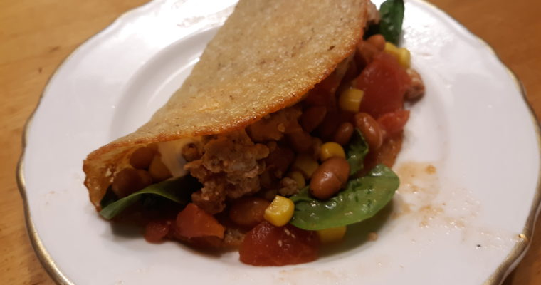 How To Make Low Carb Gluten Free Crispy Taco Shells (Nut Free)