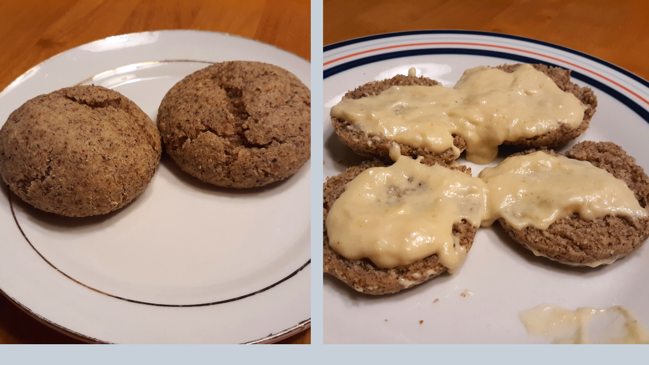 How To Make Gluten Free Keto Friendly Biscuits With No Flour Gravy