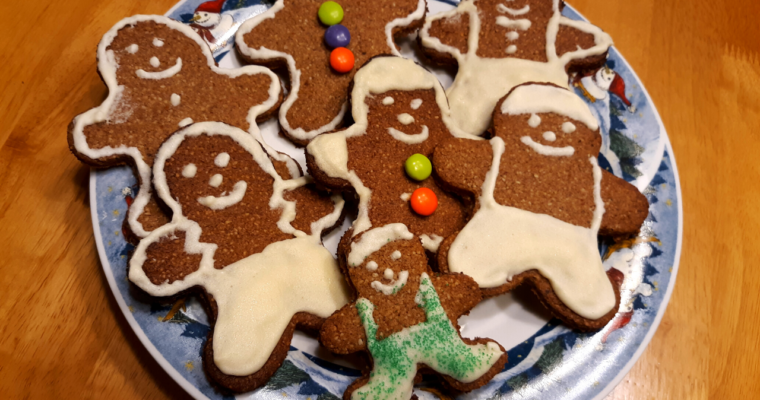 Gluten Free Crispy Keto Gingerbread Cookies With Quick Sugar Free Royal Icing