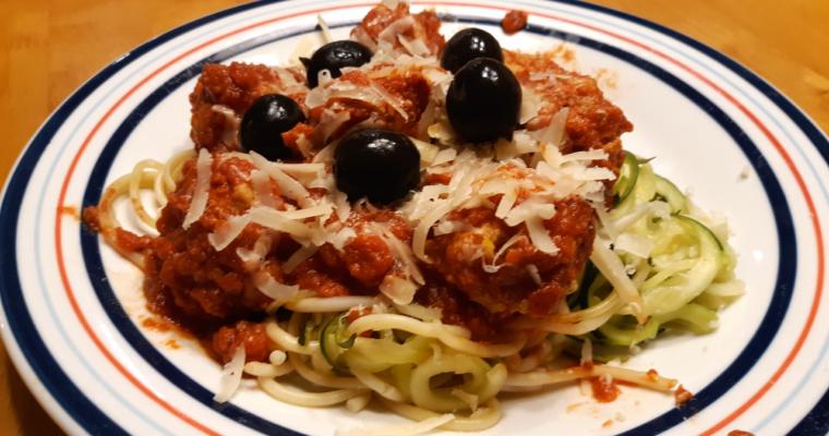 How To Make Keto Spaghetti And Meatballs