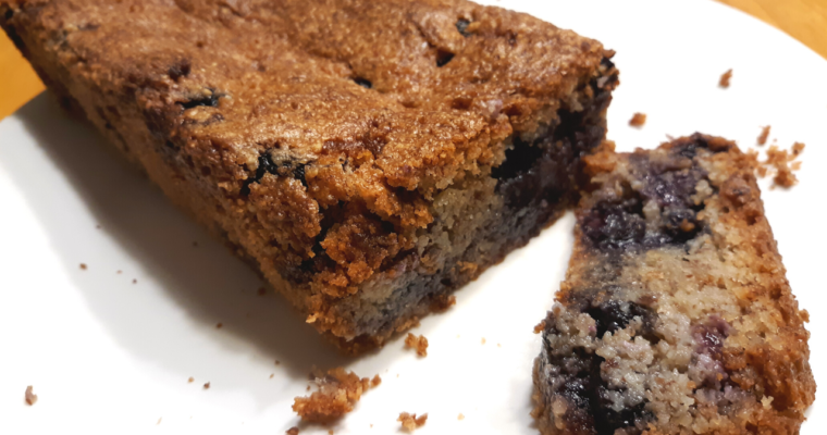 How To Make Gluten Free Keto Friendly Blueberry Muffin Bread