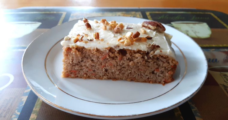 How To Make Easy Keto Gluten Free Carrot Cake With Cream Cheese Frosting