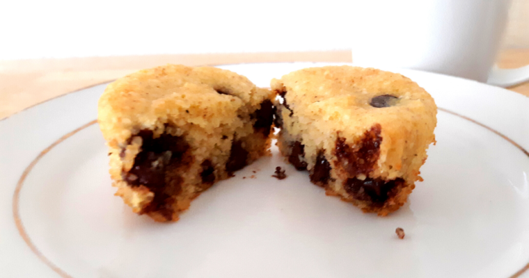 Gluten Free Keto Chocolate Chip Muffins