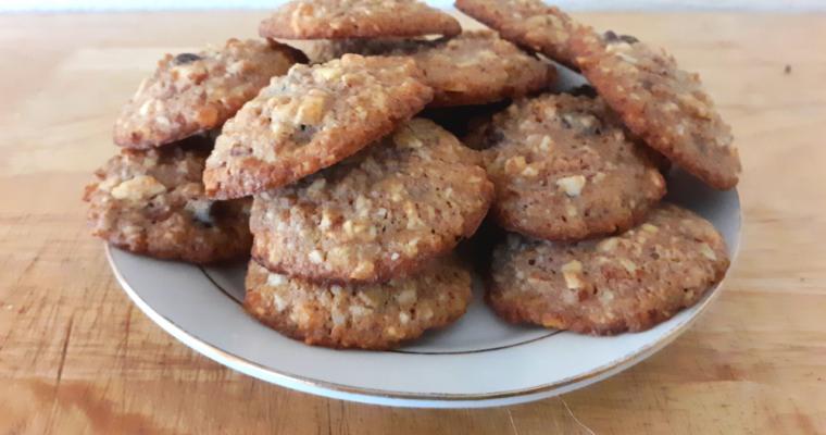 Gluten Free Keto Oatmeal Cookie Substitute