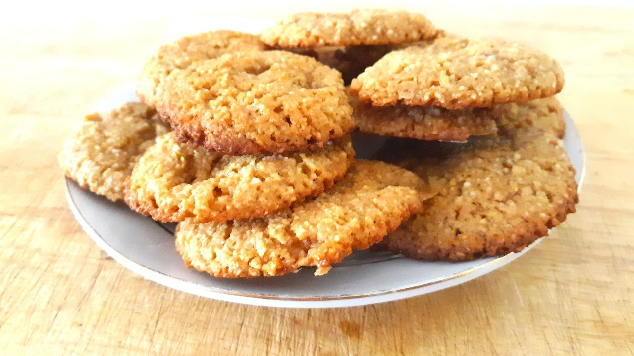 Gluten Free Keto Butterscotch Cookies
