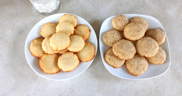 How To Make Basic Coconut Flour Cookies 2 Ways