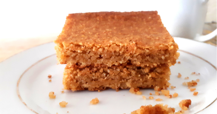 Gluten Free Low Carb Blondies