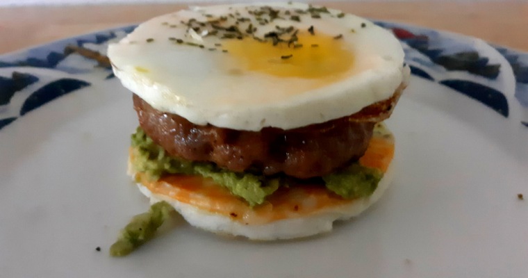 How To Make Breadless Keto Breakfast Sandwiches