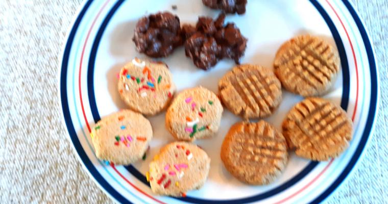 3 Three Ingredient Keto Cookies
