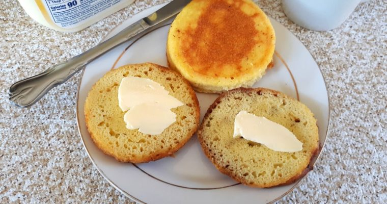 No Yeast Keto English Muffins