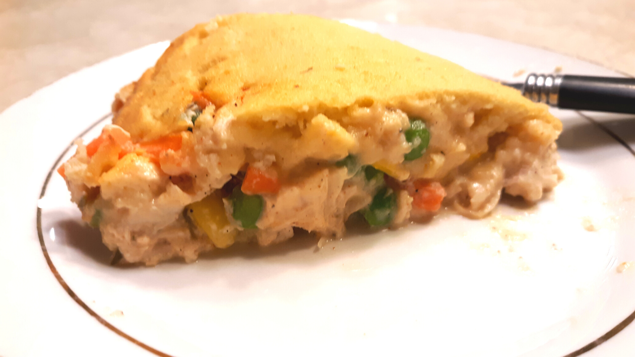 Easy Keto Chicken Pot Pie