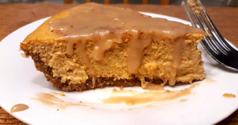 Keto Pumpkin Spice Cheesecake