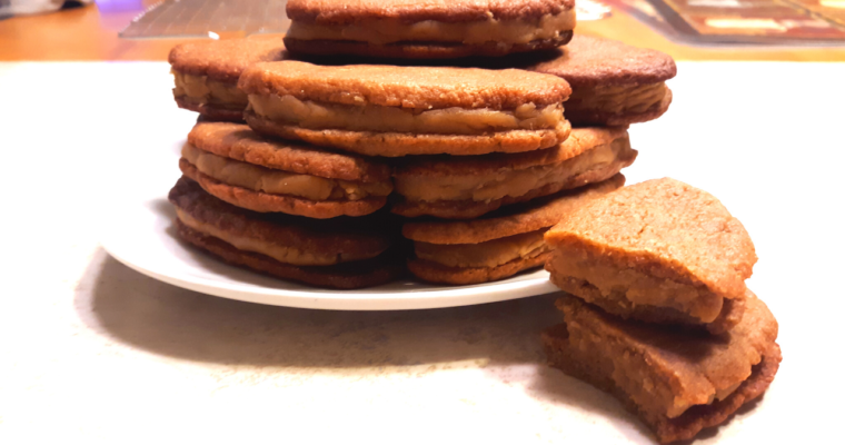 Easy Keto Peanut Butter Cookie Sandwiches With Nut Free Option