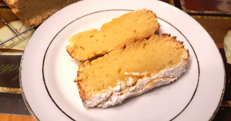 Simple Keto Coconut Flour Pound Cake