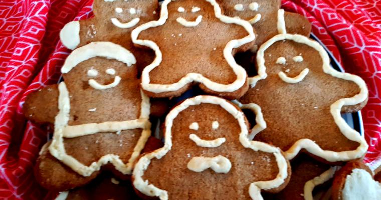 Keto Coconut Flour Gingerbread Cookies