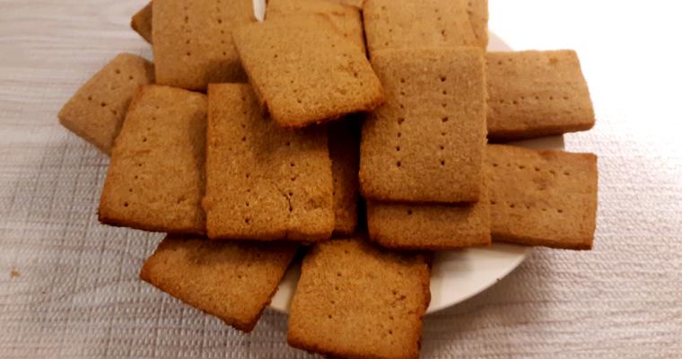 Easy Keto Coconut Flour Graham Crackers