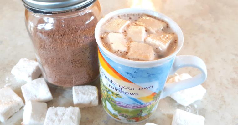 Keto Hot Chocolate Mix With Keto Marshmallows