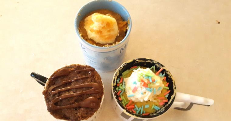 90 Second Keto Mug Cakes