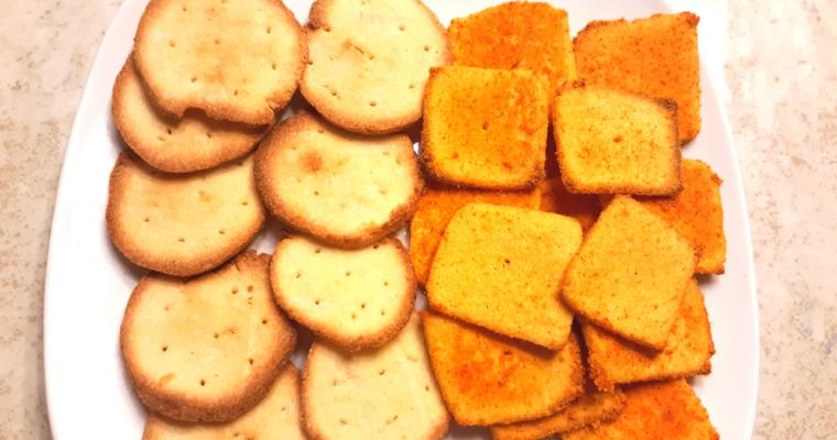 Simple Keto Crackers