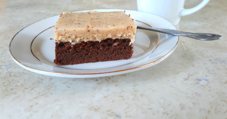 Quick Keto Coffee Frosting