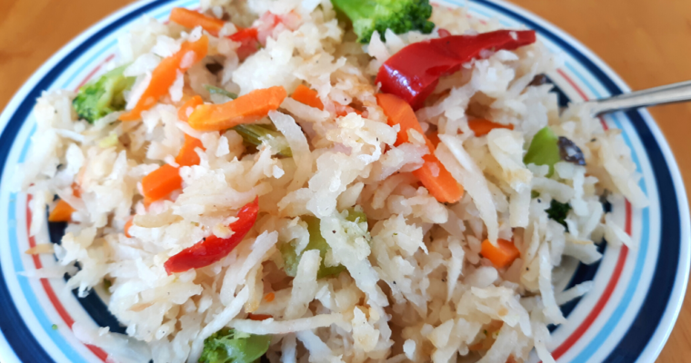 "Quick keto ""Rice"" Without Cauliflower"