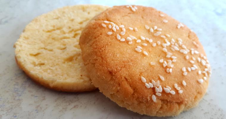 The Quickest Keto Sesame Burger Buns